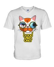 GOOD VIBES V-Neck T-Shirt thumbnail