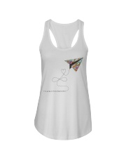 FIND A HAPPY PLACE Ladies Flowy Tank thumbnail