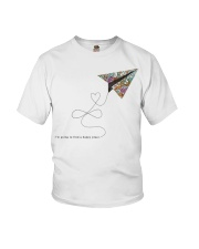 FIND A HAPPY PLACE Youth T-Shirt thumbnail