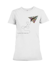 FIND A HAPPY PLACE Premium Fit Ladies Tee thumbnail