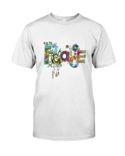 PEACE LOVE Classic T-Shirt tile