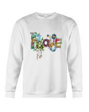 PEACE LOVE Crewneck Sweatshirt tile
