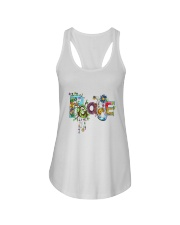 PEACE LOVE Ladies Flowy Tank thumbnail
