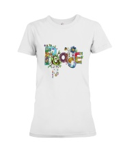 PEACE LOVE Premium Fit Ladies Tee tile