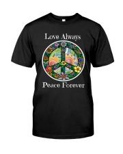 Love always peace forever Premium Fit Mens Tee thumbnail