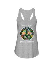 Love always peace forever Ladies Flowy Tank thumbnail