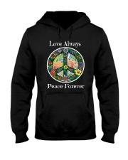 Love always peace forever Hooded Sweatshirt thumbnail