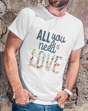 ALL YOU NEED IS LOVE Classic T-Shirt lifestyle-mens-crewneck-front-4