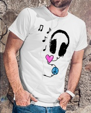 PEACE LOVE MUSIC Classic T-Shirt lifestyle-mens-crewneck-front-4