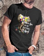 PEACE ELEPHANT Classic T-Shirt lifestyle-mens-crewneck-front-4