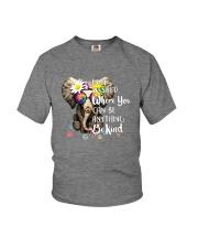 PEACE ELEPHANT Youth T-Shirt thumbnail