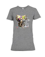 PEACE ELEPHANT Premium Fit Ladies Tee thumbnail
