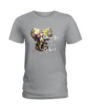 PEACE ELEPHANT Ladies T-Shirt thumbnail