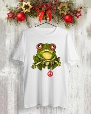 SUNFLOG PEACE  Classic T-Shirt lifestyle-holiday-crewneck-front-2