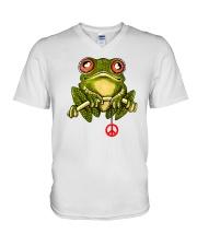 SUNFLOG PEACE  V-Neck T-Shirt thumbnail