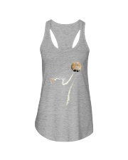 Cat and Peace Ladies Flowy Tank thumbnail