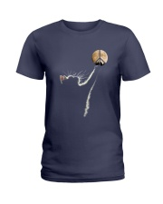 Cat and Peace Ladies T-Shirt thumbnail
