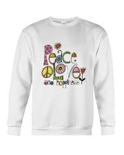 PEACE LOVE AND HIPPIESS Crewneck Sweatshirt thumbnail