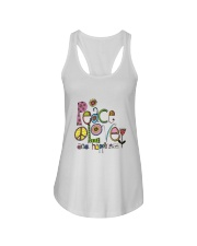 PEACE LOVE AND HIPPIESS Ladies Flowy Tank thumbnail