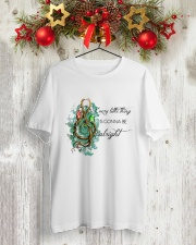 Be Alright 2 Classic T-Shirt lifestyle-holiday-crewneck-front-2