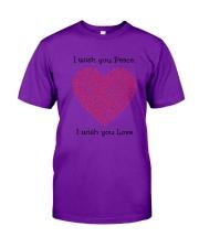 LOVE PEACE Classic T-Shirt thumbnail