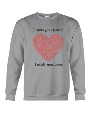 LOVE PEACE Crewneck Sweatshirt thumbnail