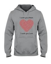 LOVE PEACE Hooded Sweatshirt thumbnail