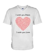 LOVE PEACE V-Neck T-Shirt thumbnail