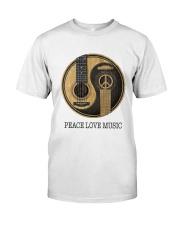 PEACE MUSIC Classic T-Shirt thumbnail