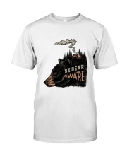 Be Bear Aware Classic T-Shirt front