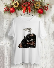 Be Bear Aware Classic T-Shirt lifestyle-holiday-crewneck-front-2