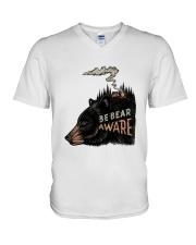 Be Bear Aware V-Neck T-Shirt thumbnail