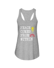 PEACE COME FROM WITHIN Ladies Flowy Tank thumbnail
