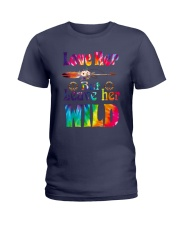 LOVE HER BUT LEAVE HER WILD Ladies T-Shirt thumbnail