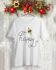 HAPPY Classic T-Shirt lifestyle-holiday-crewneck-front-2