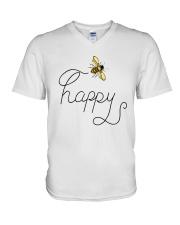 HAPPY V-Neck T-Shirt thumbnail
