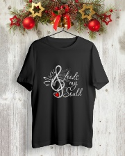 FEELS MY SOUL  Classic T-Shirt lifestyle-holiday-crewneck-front-2