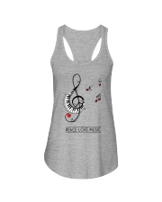 PEACE MUSIC Ladies Flowy Tank thumbnail