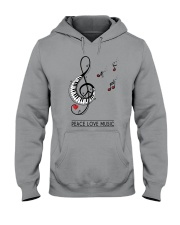 PEACE MUSIC Hooded Sweatshirt tile