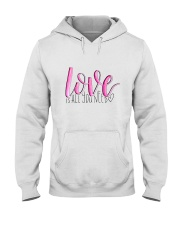 LOVE IS ALL YOU NEED Hooded Sweatshirt thumbnail