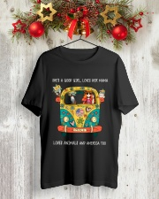 She Is A Good Girl  Classic T-Shirt lifestyle-holiday-crewneck-front-2