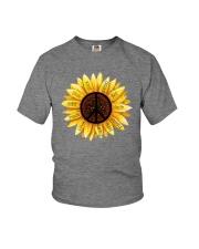 PEACE FLOWER Youth T-Shirt thumbnail