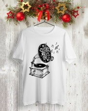 PEACE MUSIC Classic T-Shirt lifestyle-holiday-crewneck-front-2