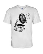 PEACE MUSIC V-Neck T-Shirt thumbnail