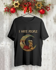 I Hate People Camping Classic T-Shirt lifestyle-holiday-crewneck-front-2