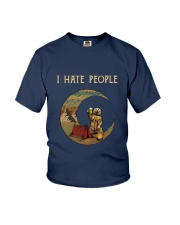 I Hate People Camping Youth T-Shirt thumbnail