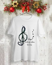 WHISPER WORDS OF WISDOM LET IT BE Classic T-Shirt lifestyle-holiday-crewneck-front-2