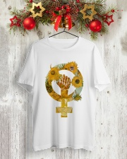 PEACE SIGN Classic T-Shirt lifestyle-holiday-crewneck-front-2