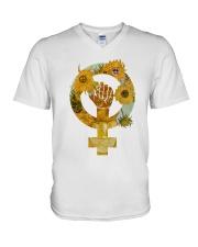 PEACE SIGN V-Neck T-Shirt thumbnail