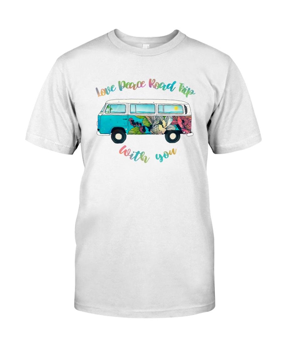 LOVE PEACE ROAD TRIP Classic T-Shirt